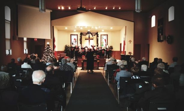 Christmas Cantata on December 15, 2019
